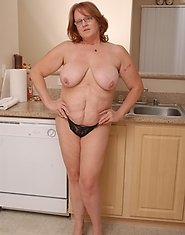 Brandy is a very naughty chubby housewife