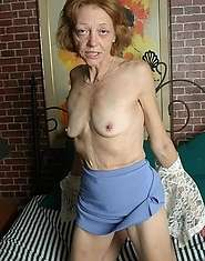 Xxx granny porn in its truest form titties and glass dildo