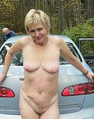 This is one hot mature and horny hitchhiker
