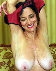 Hardcore granny sex big tits hairy pussy to pet