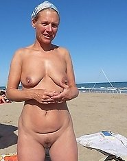 Old lady Cartine with younger guy - picture gallery