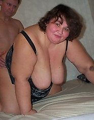 This chubby swinger loves to get her holes filled