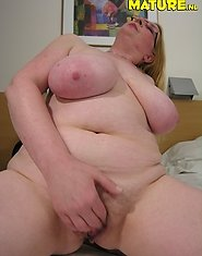 Big titted mature nympho showing her stuff